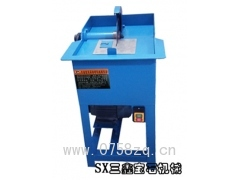 供应各类宝玉石加工机器设备 人工小切开料机(加厚型)国标马达