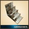 不锈钢4层钱包展示架 饰品多层放置架 梯形手提包箱展示架 X1191