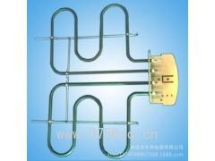 厂家直销 桑拿专用电热管 干烧斜弯夹片型电热管 不锈钢空气发热