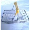 厂商直销中号迷你购物篮金属工艺超市手提篮广告促销赠品