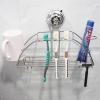 不锈钢牙刷架强力吸盘免钉钻无痕漱口杯浴室洗漱牙具杯具壁挂架
