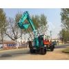XZ-80型东风地盘轮式挖掘机 小型农用轮式挖掘机厂家价格