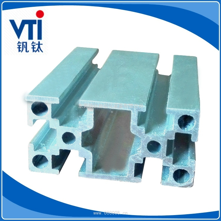 厂家供应 2040方孔电泳铝合金型材 电泳工业铝型材