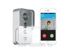 康鑫泰KONX智能家居wifi可视门铃 手机远程无线对讲别墅家用门铃