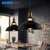 世源复古工业北欧简约美式乡村走廊餐厅吧台创意单头吊灯PL7512