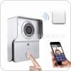 火热招商:WIFI无线门铃 远程可视对讲 智能摇控开锁 wifi门铃 无线可视门铃