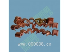 供应广州电缆纯铜C型线夹 线缆夹