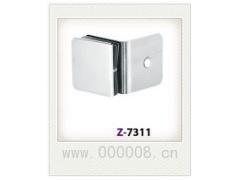 供应135°单边方形精铸固定夹 浴室夹 玻璃门夹 固定夹隔断码