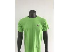男装 休闲T恤 (短袖,绿色)  简约 舒适