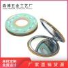 便携化妆镜 可定制图案口袋镜子 双面化妆镜