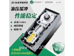 香港坚莱45出口标准型地弹簧玻璃门木门有框门无框门铝合金门配件